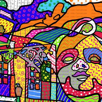 Desenho Ouro Preto (Estilo Romero)