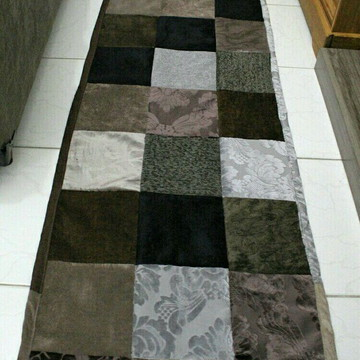 Passadeira (tapete) de retalhos (patchwork)
