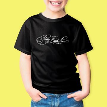 Camiseta Infantil PLL Pretty Little Liars 100% Algodão