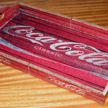 Bandeja Vintage Grande Coca Classic