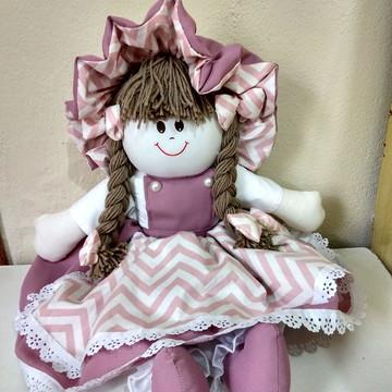 Boneca de pano Paty, 60cm