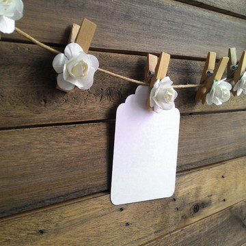 Mini Pregador Decorativo Rosas