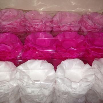 Forma de doces papel seda
