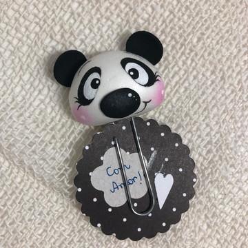 Clips decorado panda
