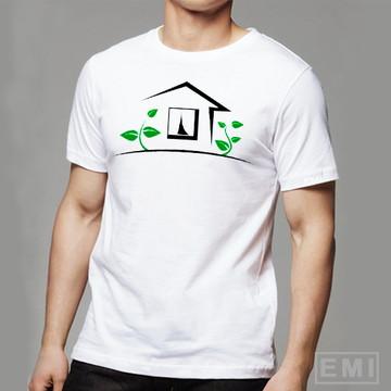 Camiseta mundo sustentavel meio ambiente