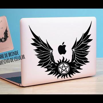 Adesivo notebook Supernatural + brinde