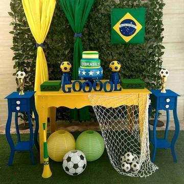 Decoração Copa do Mundo Brasil Futebol