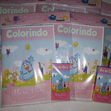 Livrinho de Colorir - Galinha Pintadinha
