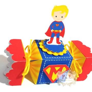 Lembrancinha super homem caixa bala