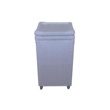 Cesto Roupa Sintético Branco RD 30x30x60