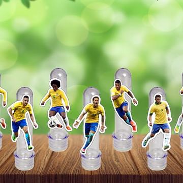 Tubete Seleção Brasil Tubo Ensaio Doces