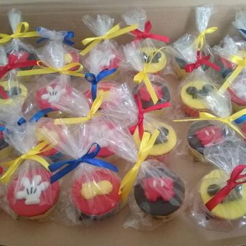 Mini Cupcakes - Mickey