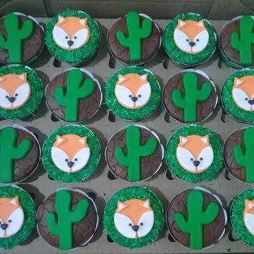 Cupcakes - Rapozinha e Cacto