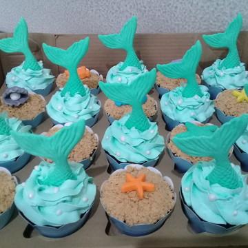 Cupcakes - Fundo do Mar & Sereia