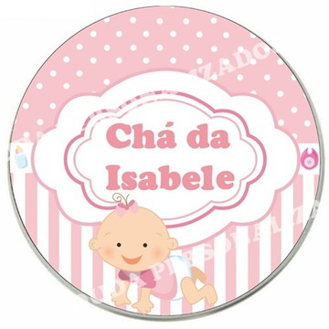 Adesivo para Chá de Bebê ou Chá de fralda