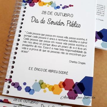Caderno Corporativo Personalizado - Dia do Servidor Público