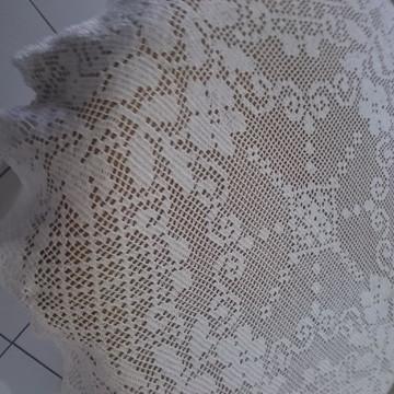 Toalha de Mesa Redonda com Flores
