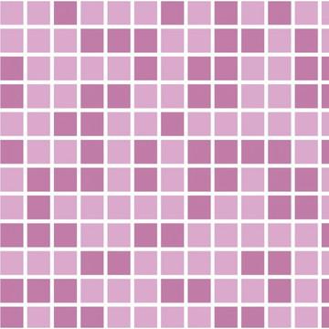 Adesivo para Azulejo de Cozinha Pastilhas Lavável Rosa 10 MT
