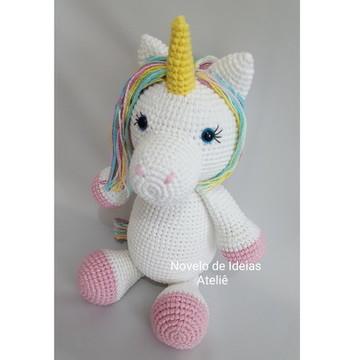 Unicórnio amigurumi/ unicornio crochê