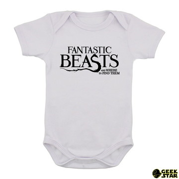 Body Infantil Harry Potter Animais Fantásticos