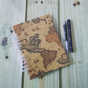 Caderno de Organização - Mapa Mundi