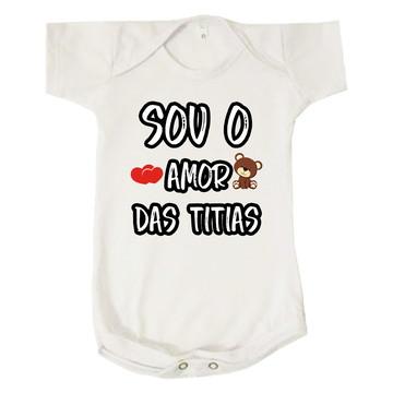 Body Bebê Infantil Amor das Titias Neutro Surpresa
