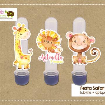 Tubete Festa Safari Menina