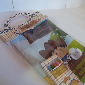Livro de colorir Fazendinha