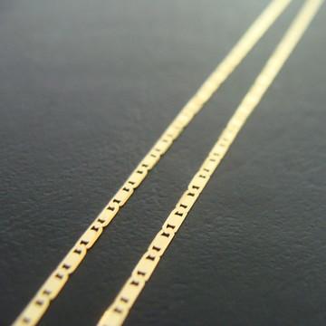 Corrente Modelo Piastrine 50cm