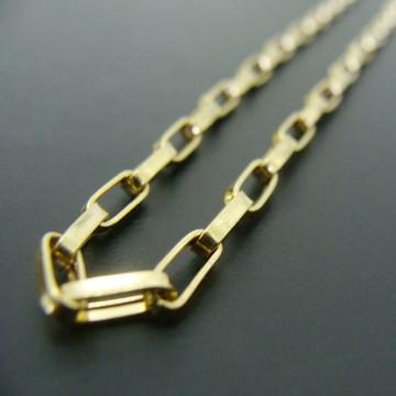 Corrente de Ouro 18k Cartier 60cm - Frete Grátis