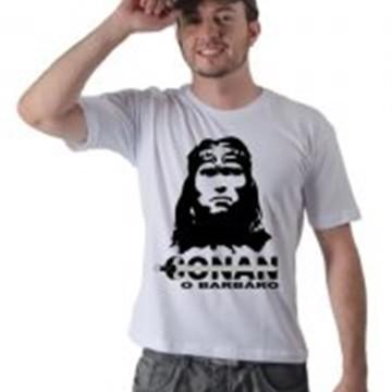 Camiseta Conan O Bárbaro Estampada Masculina