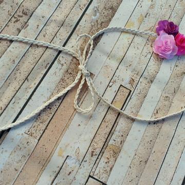 Headband com flores
