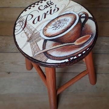 Banco Vintage Café Paris
