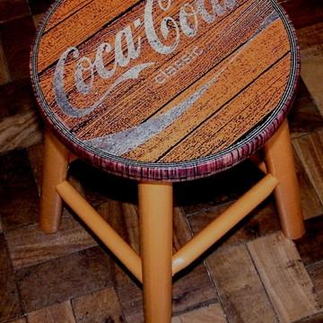 Banco Vintage Coca Classic Mel