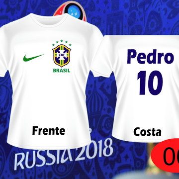 ef0b3a9bde00b Camisetas Personalizadas Copa do Mundo 2018