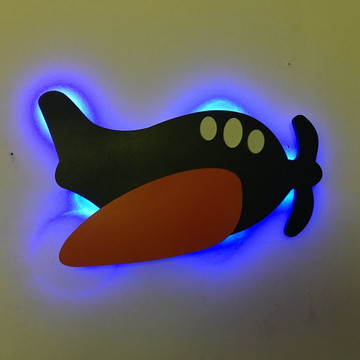 Avião Luminoso MDF