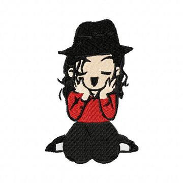 Matriz Bordado Michael Jackson Agulha Feliz Matrizes