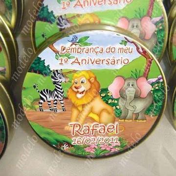 Lembrança para festa - Festa Safari