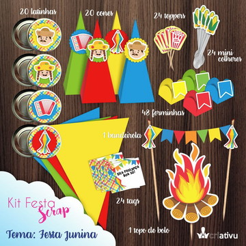 Kit Festa Scrap Festa Junina