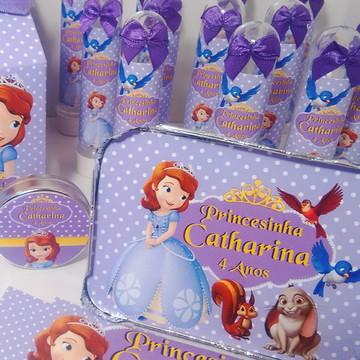 Lembrancinhas Festa Princesinha Sofia