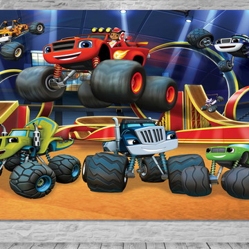 Painel Blaze Monster Machines-Frete Grátis