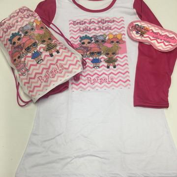 kit festa do pijama Lol