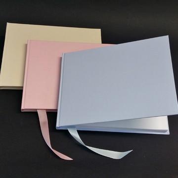 Caderno de Assinatura tamanho A5 - Diversas cores