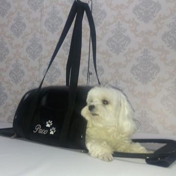eeceffb05 Bolsa Transporte Cães E Gatos Colo E Passeio Tam. P