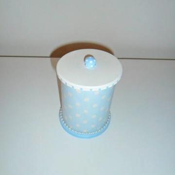 pote para algodao ou cotonete (vendido)