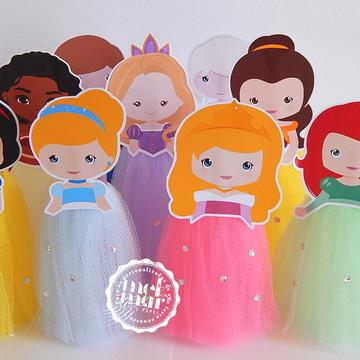 Tubete Princesas Disney Cute