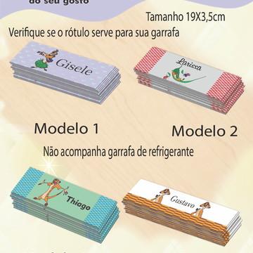 Rótulo refrigerante-Timão
