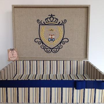 Caixa Maternidade/Organizadora menino