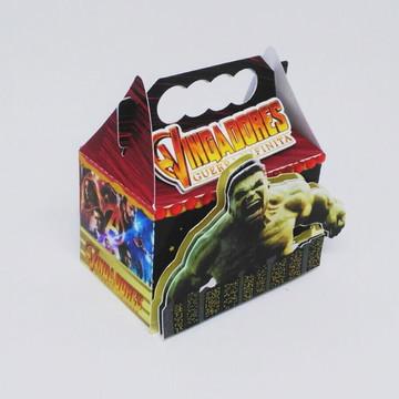 Caixa Maleta - Vingadores Guerra Infinita