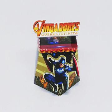 Caixa 02 - Vingadores Guerra Infinita